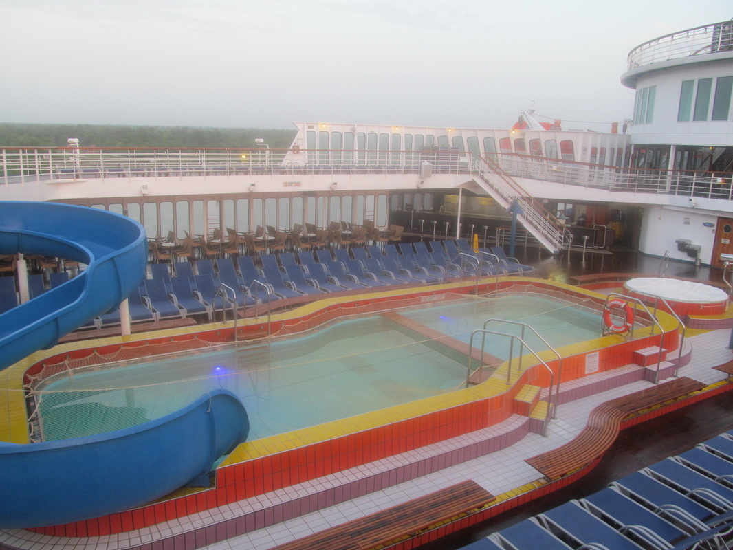 Carnival Elation Pool