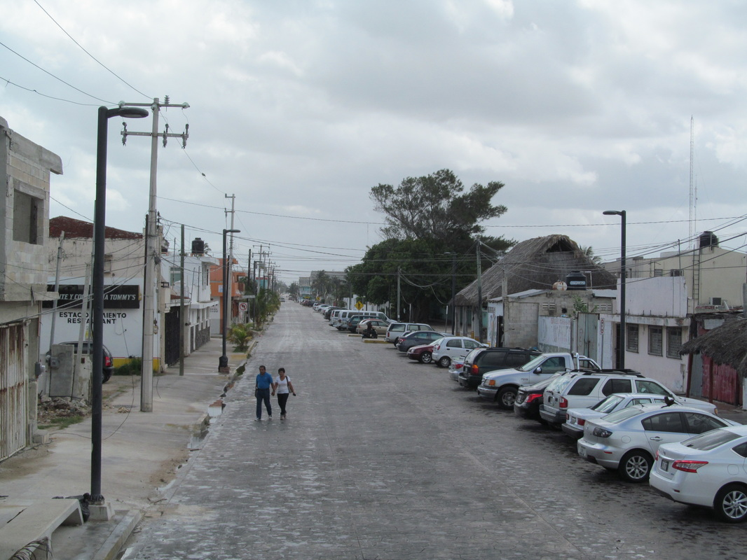 Streets of Progreso Mexico
