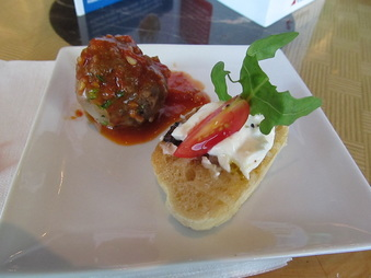 Meatball and Bruschetta