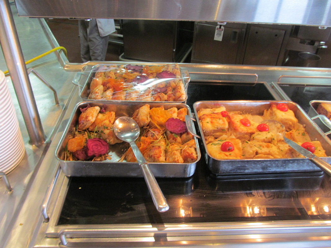 Assorted Food In the Chef's Choice Buffet Line