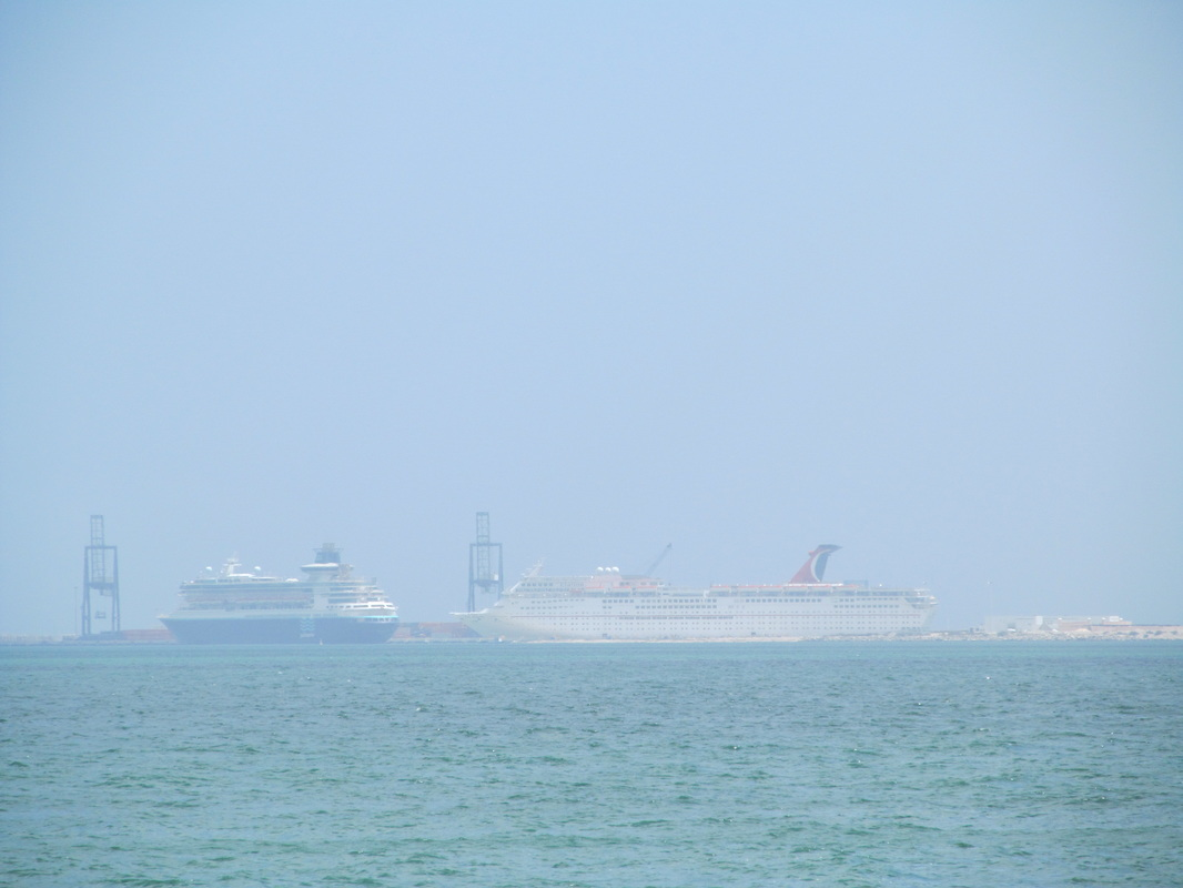 Cruise Ships Docked at Progreso