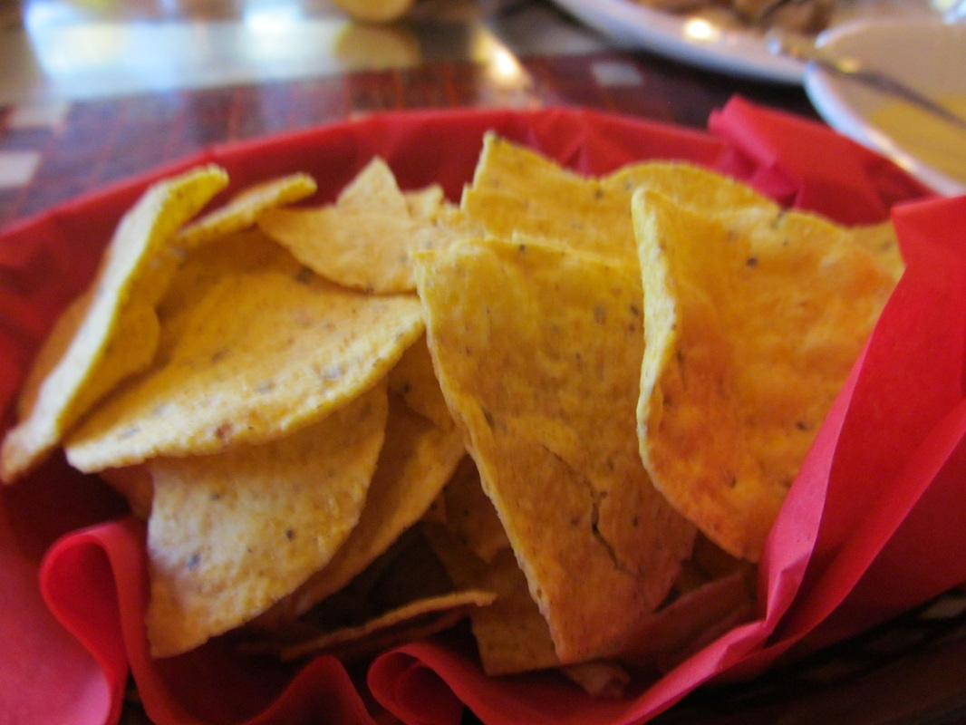 Tortilla Chips from the Burrito Bar