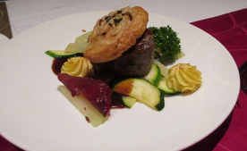4th Course - Beef Wellington