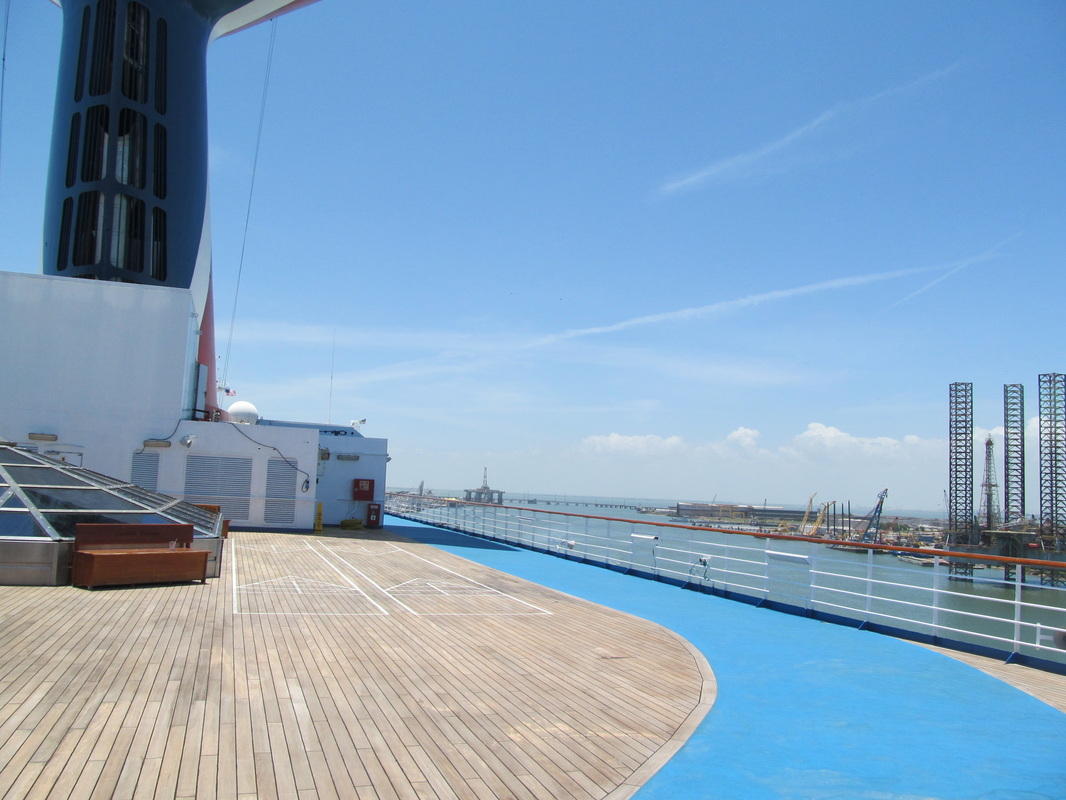 Jogging Track - Looking Towards Front of Ship
