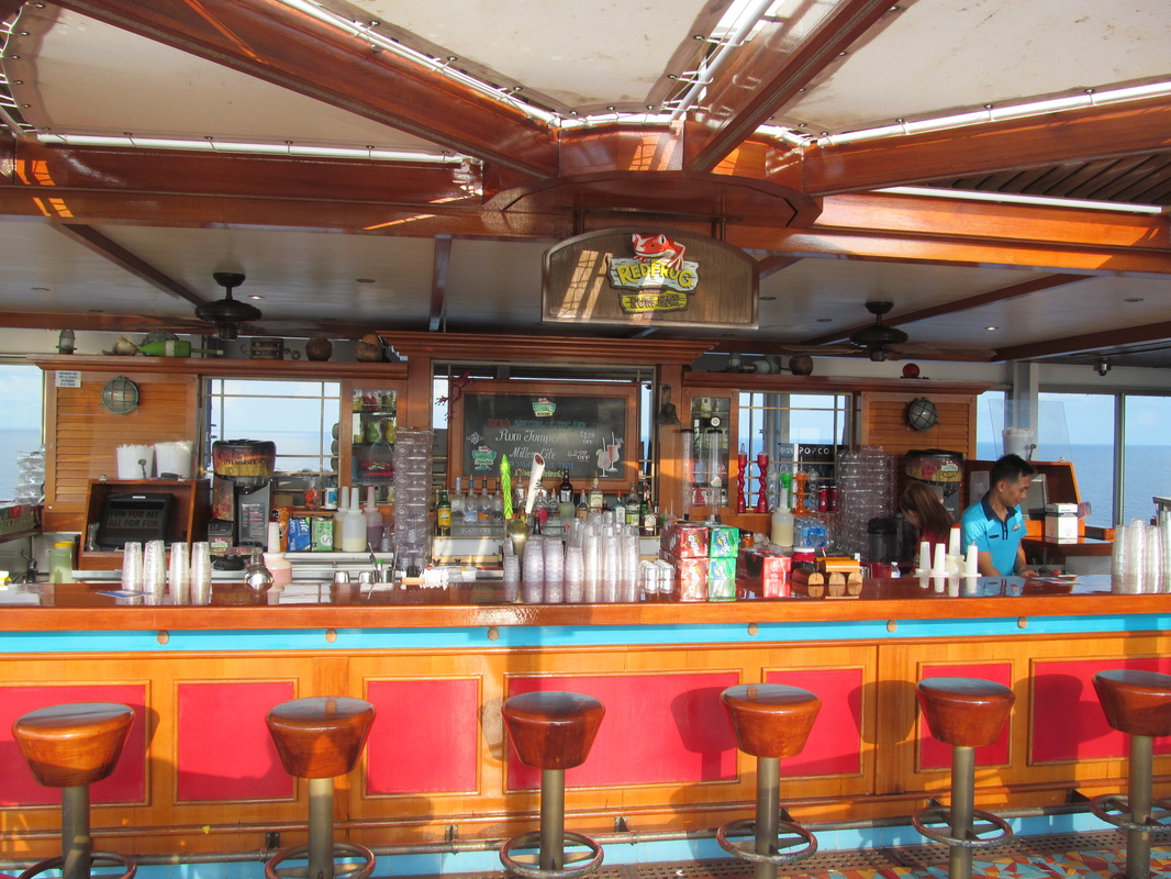 Carnival Triumph Red Frog Rum Bar