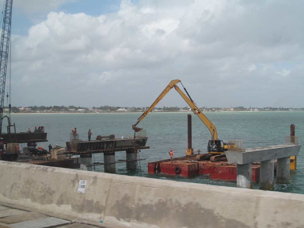 Progreso Mexico Pier Extension