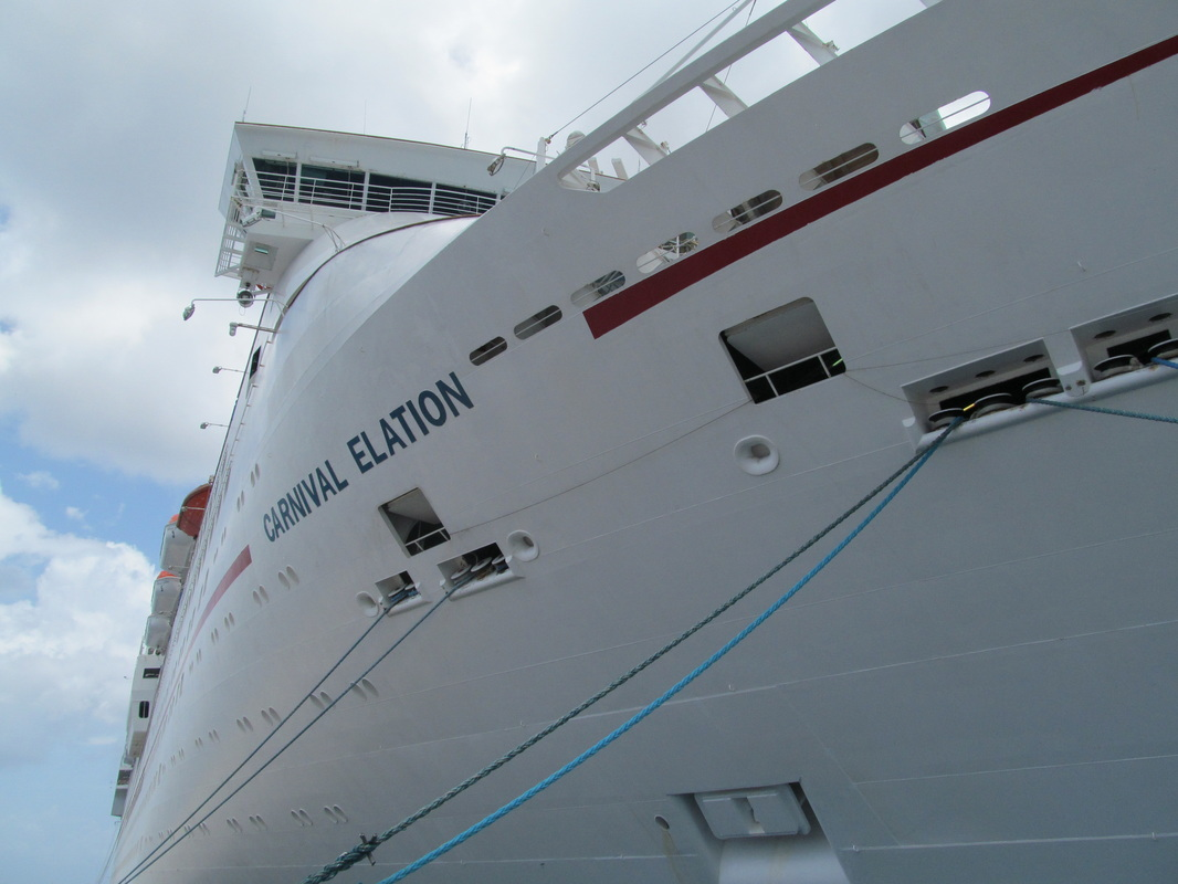 Front of the Carnival Elation