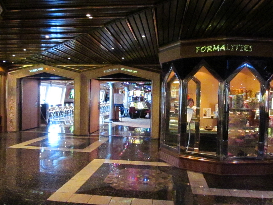 Formalities Shop on Carnival Triumph
