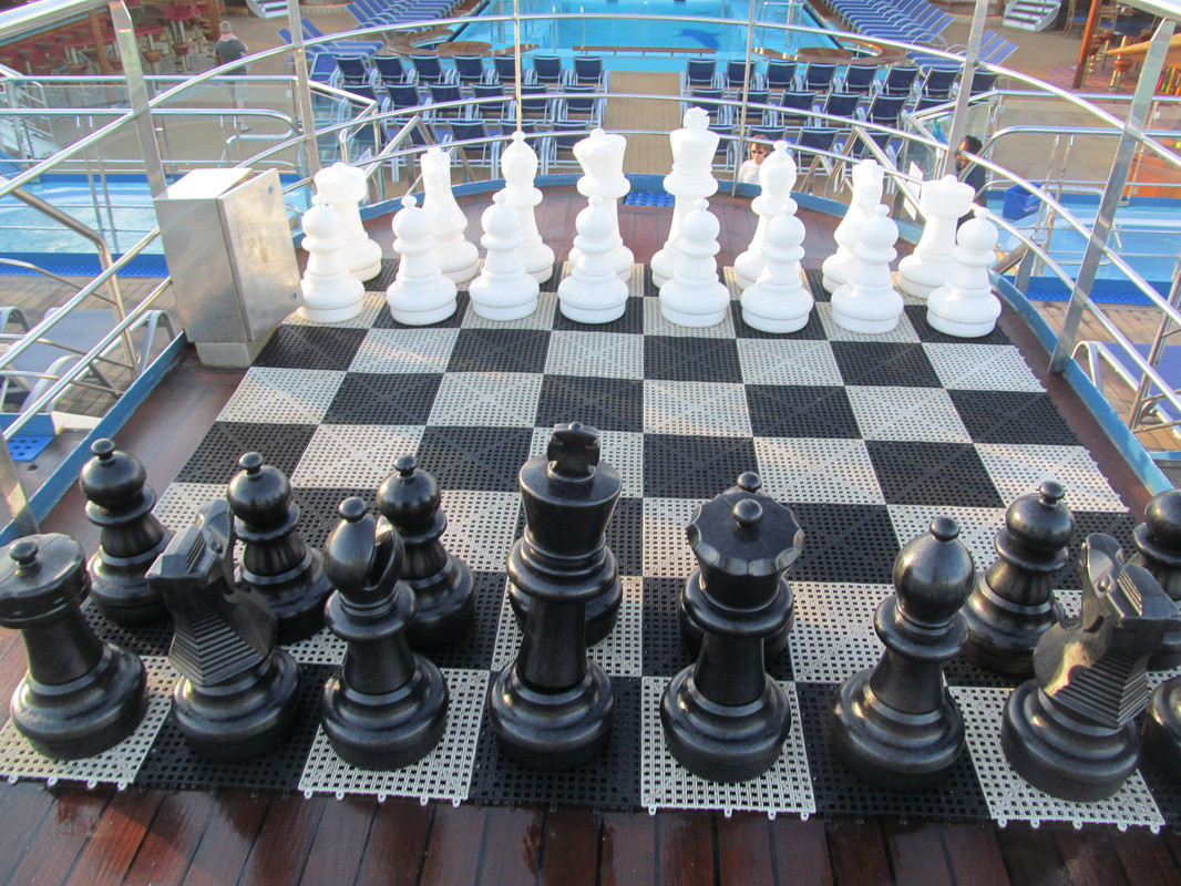 Large Chess Board on Panorama Deck