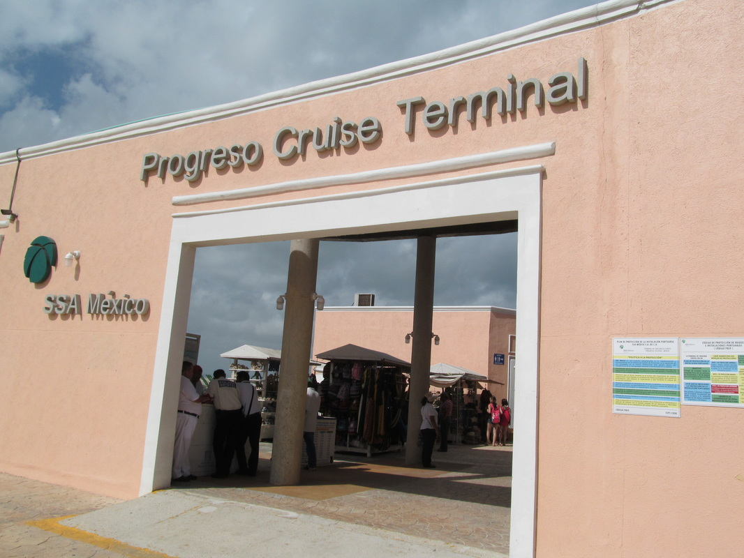 Progreso Cruise Terminal Entrance
