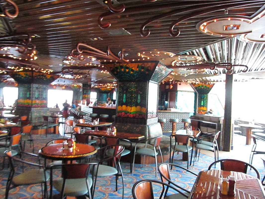 Carnival Elation Tiffany's Bar and Grill