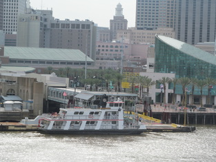 Ferry Docked in New Orleans