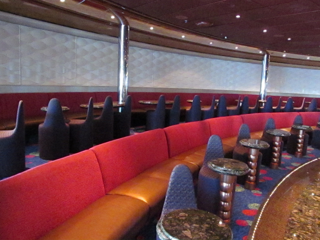 Rows of Seats Along Disco Wall