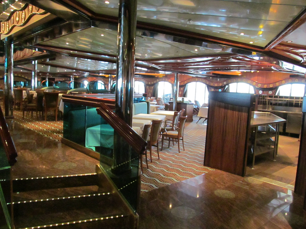 Port Side of Lower Level of London Dining Room