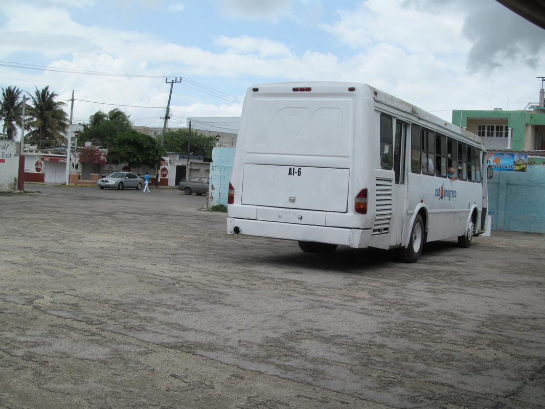 Progreso Mexico Shuttle Bus
