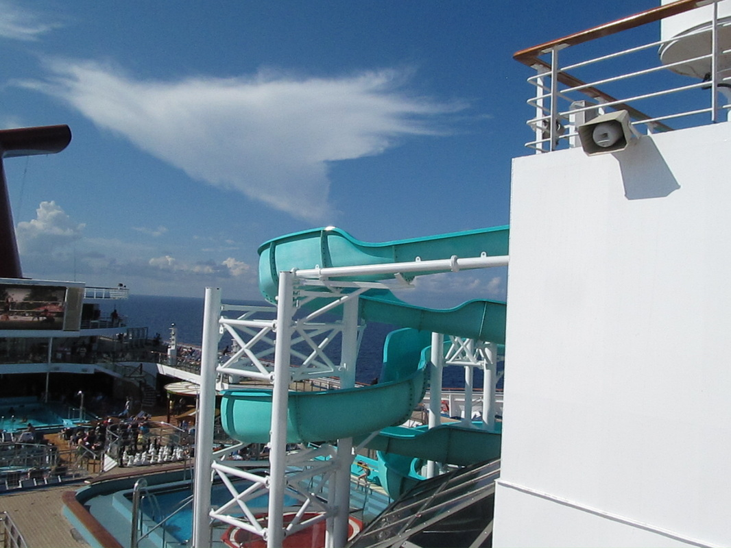 View of Waterslide