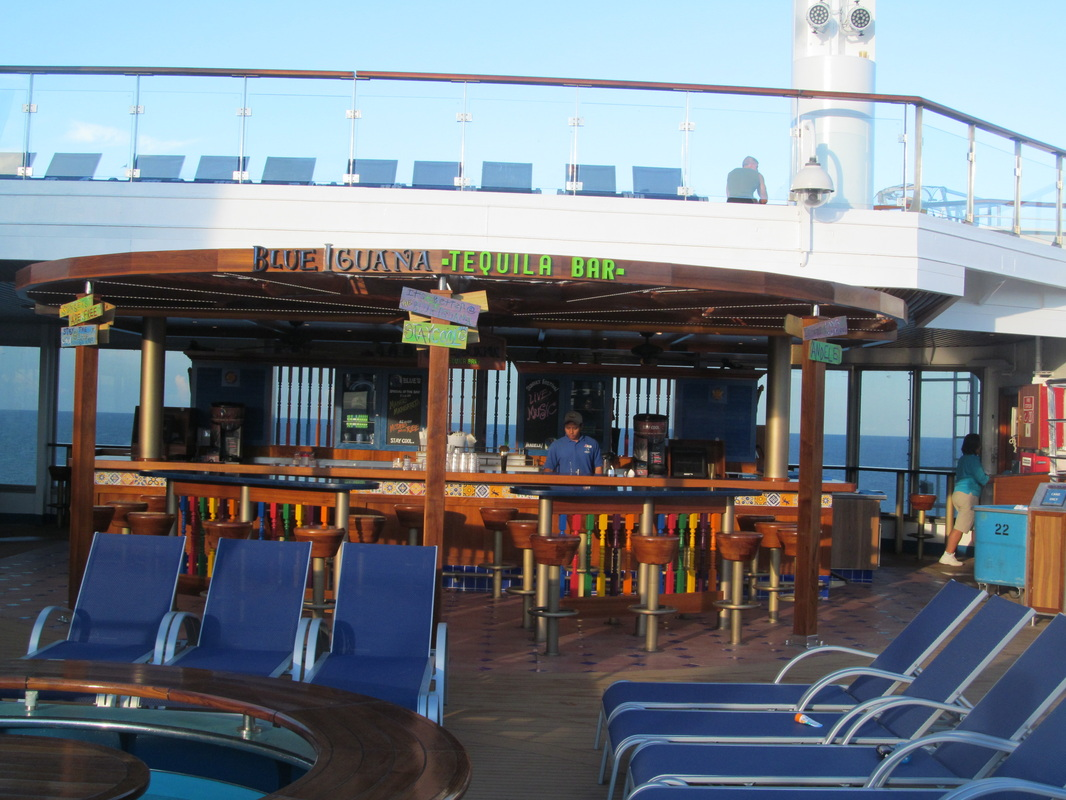 Panoramic View of Blue Iguana Tequila Bar