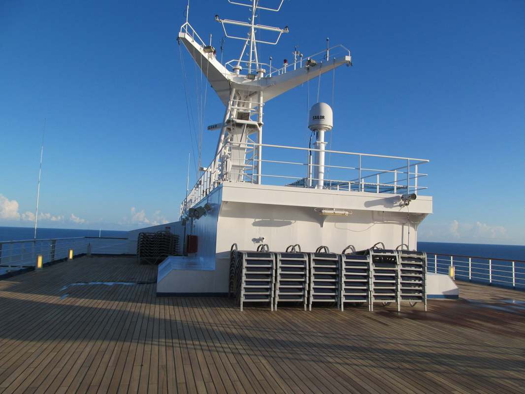 Looking Towards Front of Ship