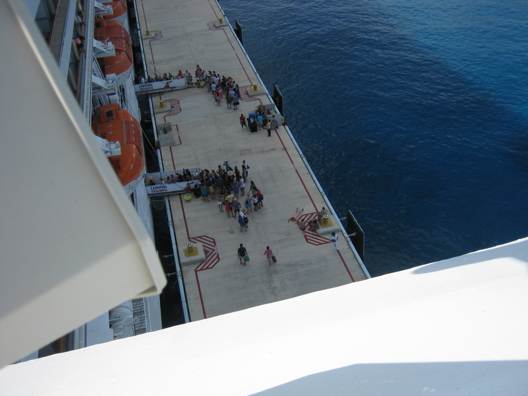 Lines Dwindling To Get Back Onboard