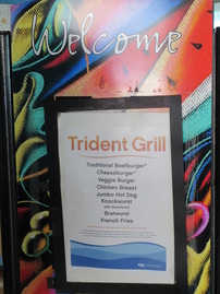 Trident Grill, Deck 15