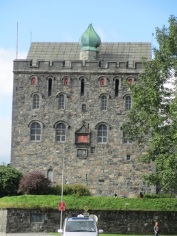 Side view of Rosenkrantz Tower