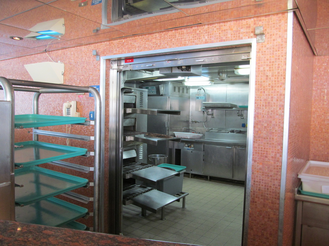 View of Pizzeria Kitchen