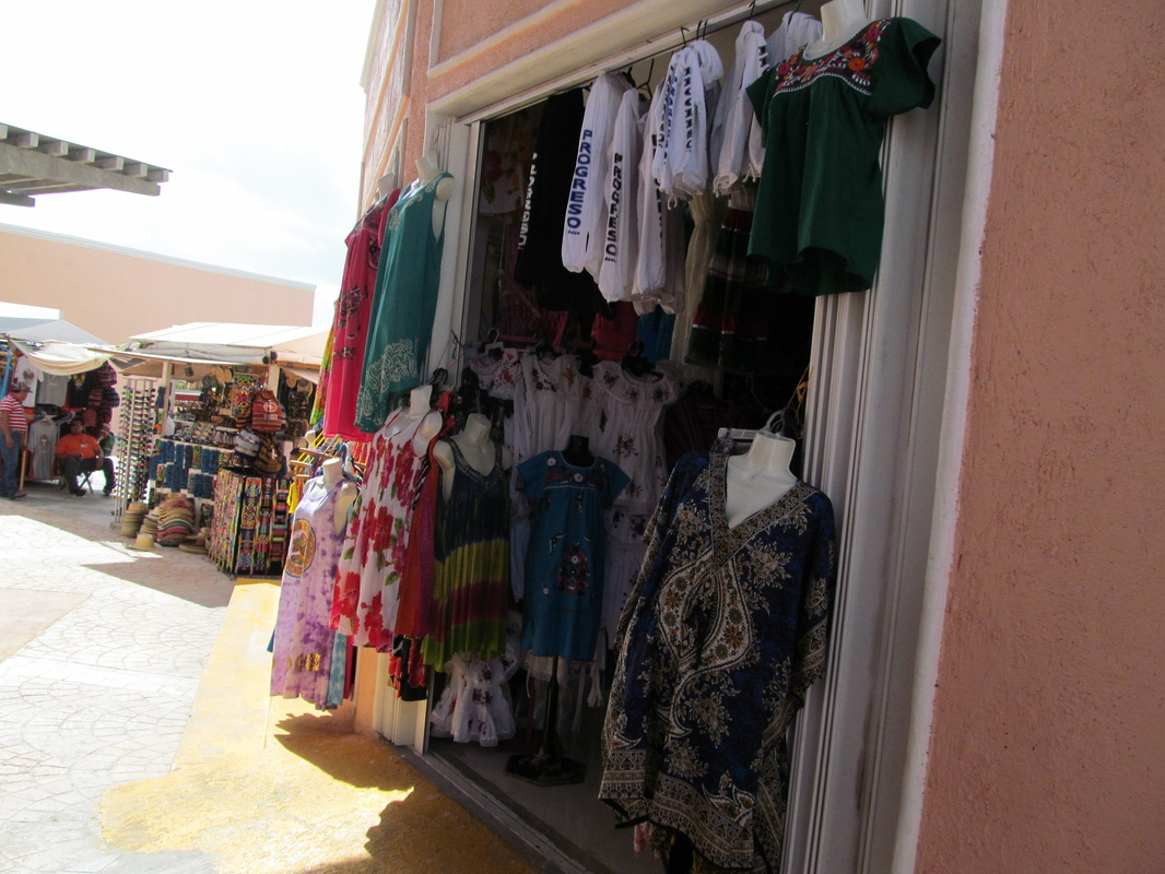 Progreso Mexico Shops