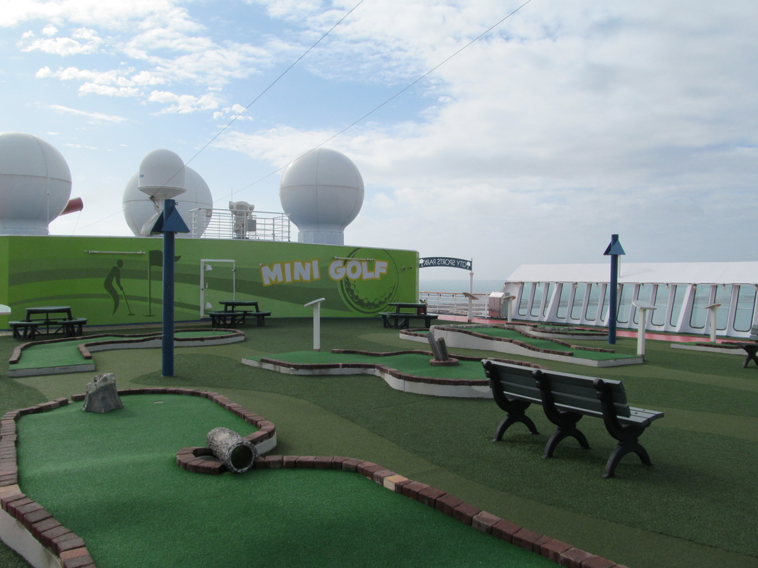 Carnival Elation Mini Golf Course