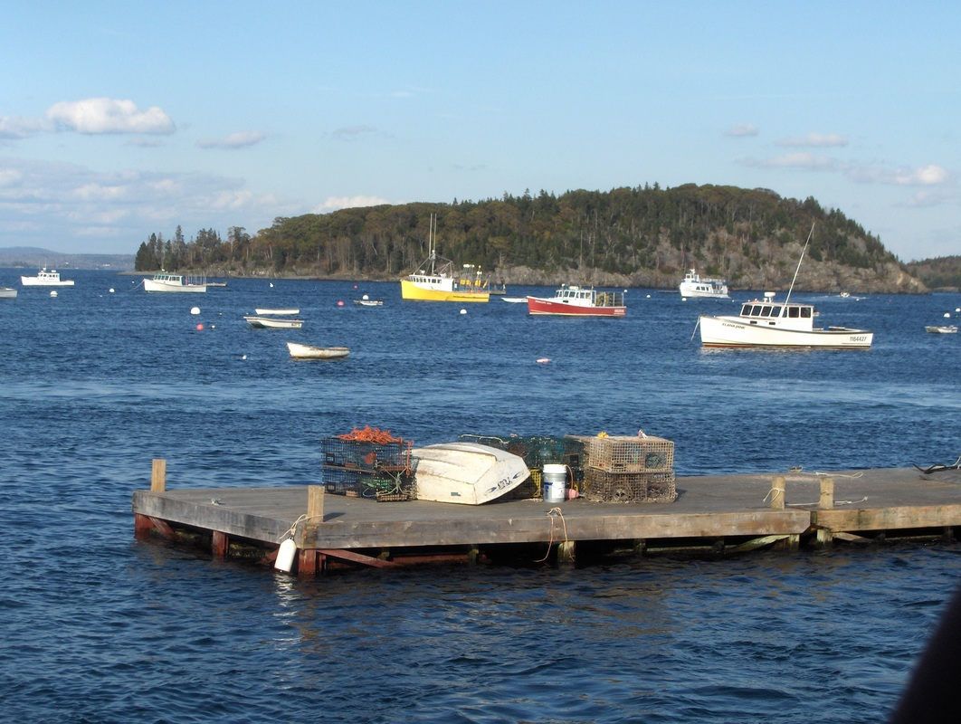 Lobster boats in Frenchman's Bay