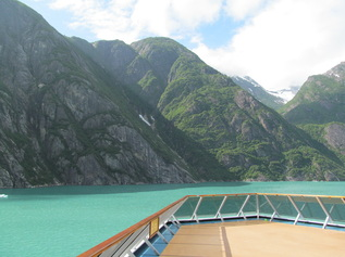 Carnival Miracle In Tracy Arm Fjord