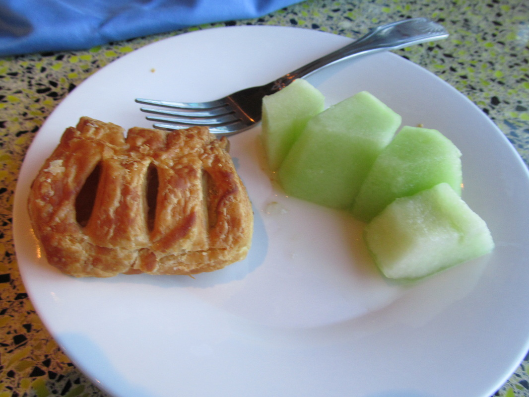 Pastry & Honeydew Fruit