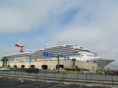 Carnival Liberty Docked In Galveston