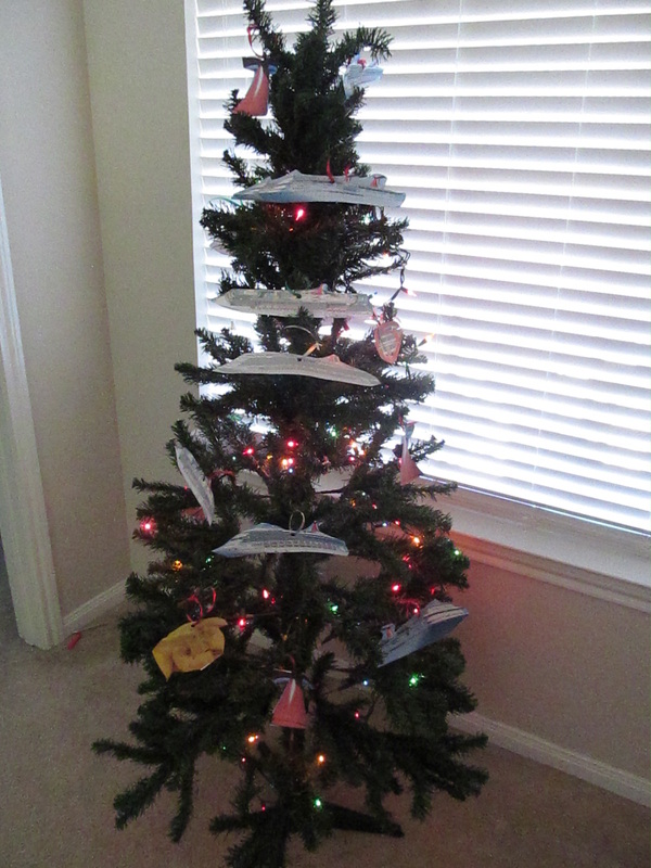 Cruise Ship Themed Christmas Tree