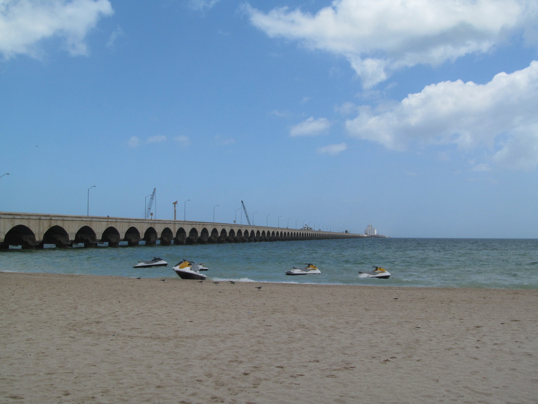 Progreso Pier and Beach