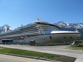 Grand Princess In Alaska
