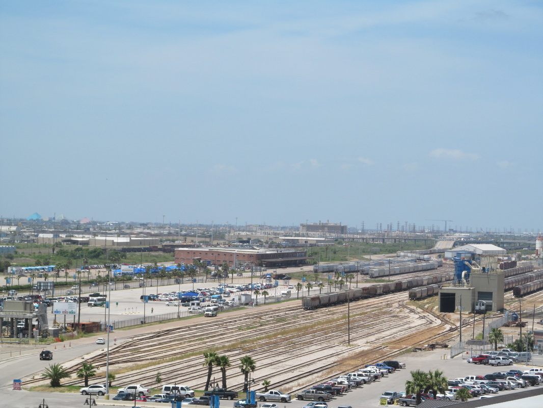 Galveston Train Yard