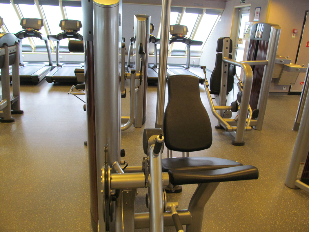 Carnival Elation's Gym