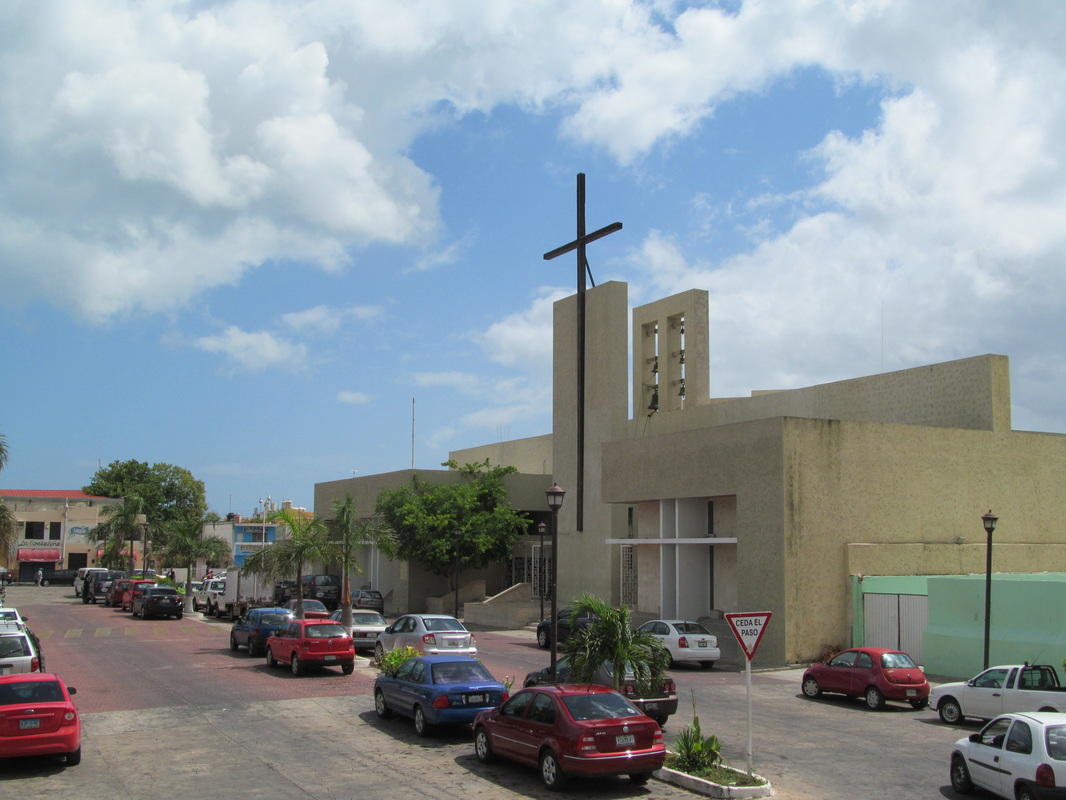 Progreso Mexico Church