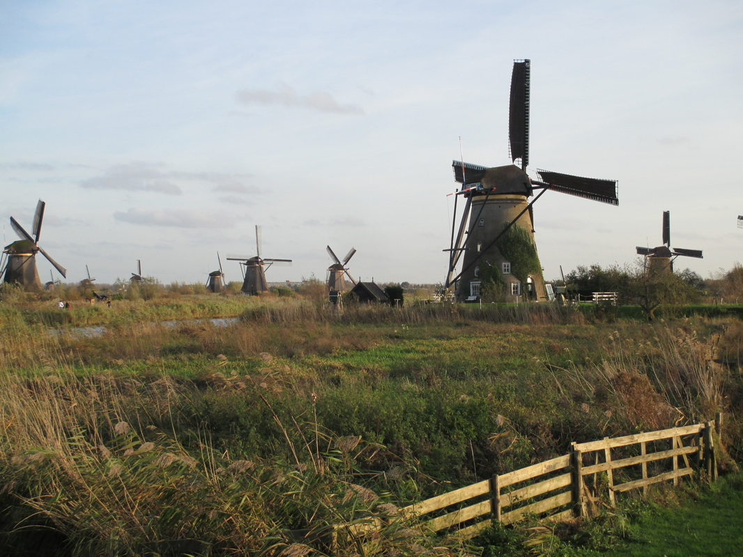 Most windmills have families living in them