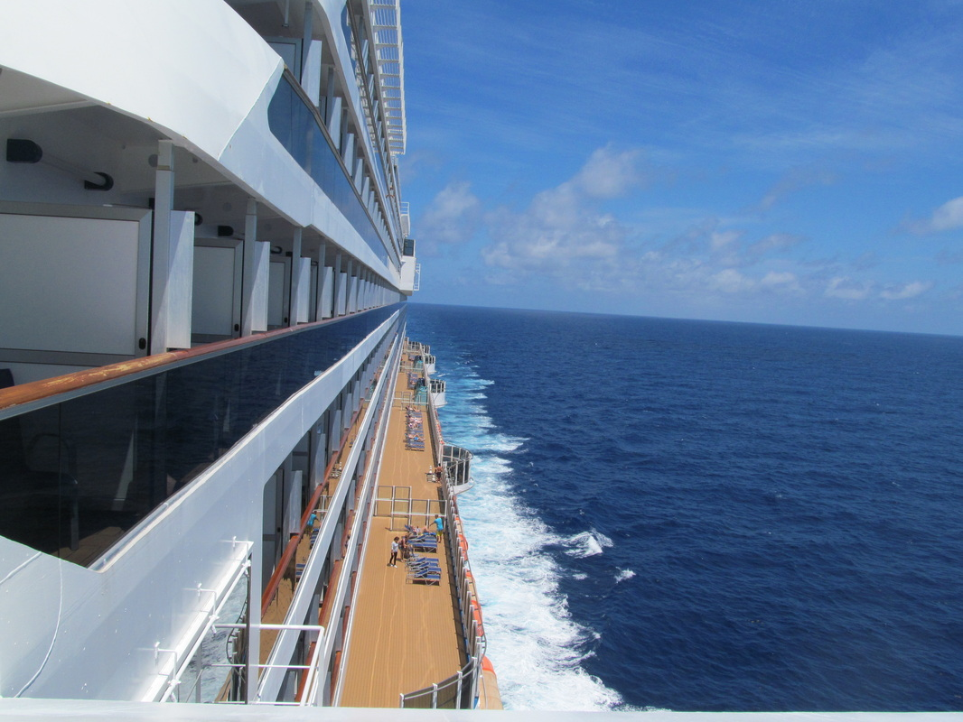 Port Side of the Carnival Dream