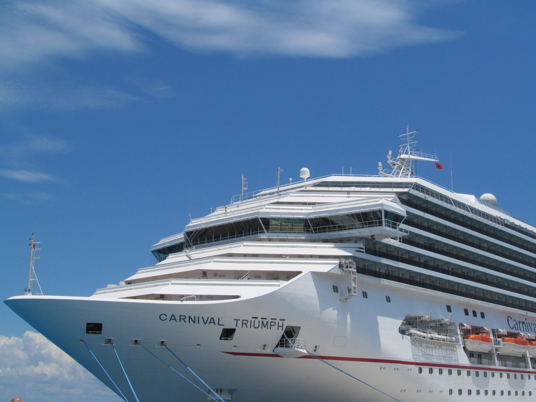 Front of Carnival Triumph