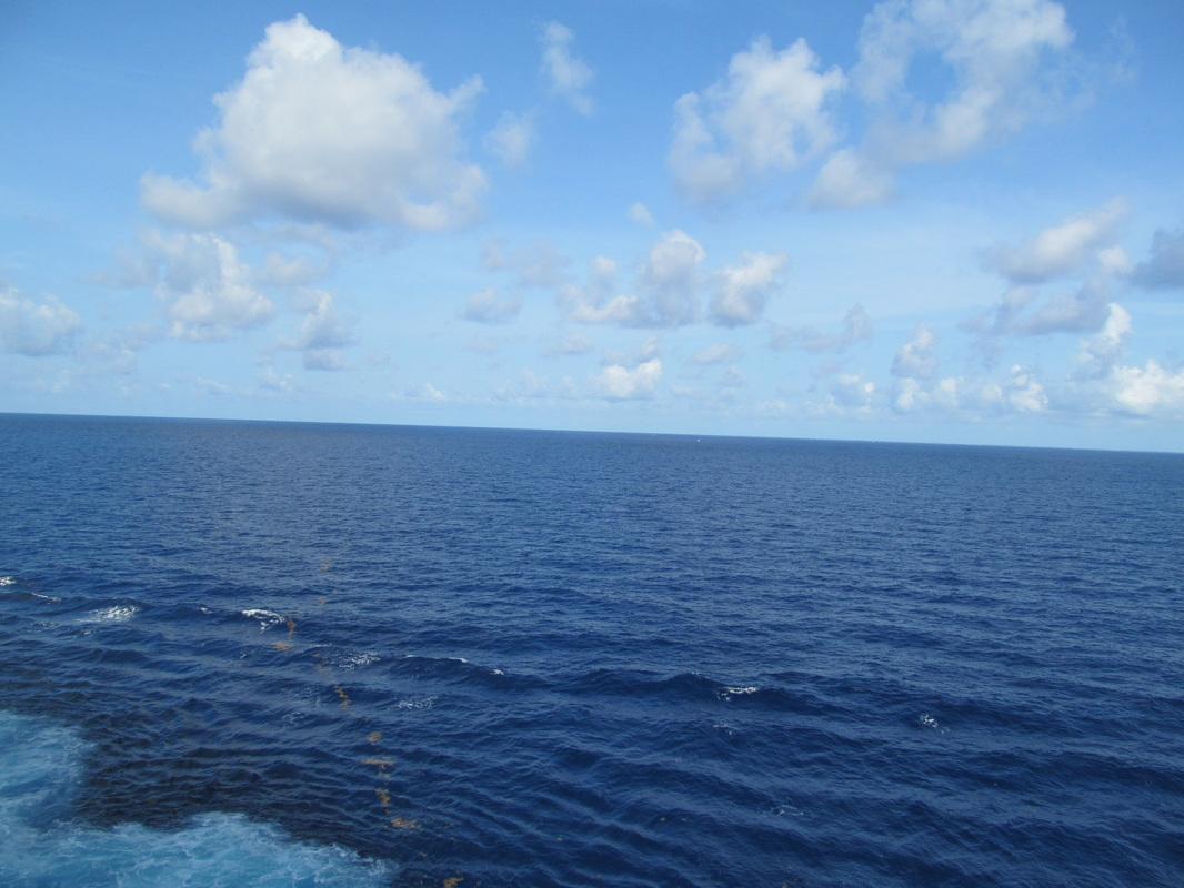 Carnival Dream Blue Water From Ship