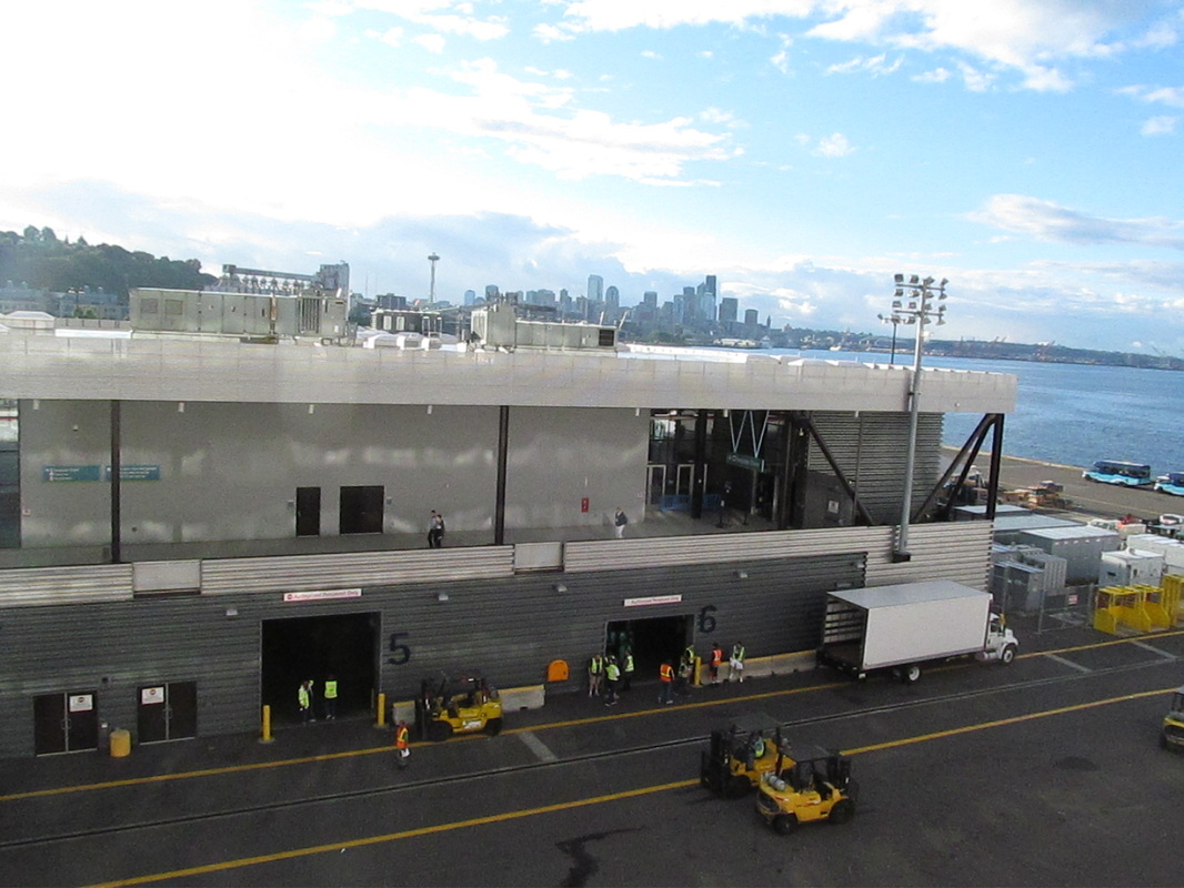Pier 91 with Seattle in Background