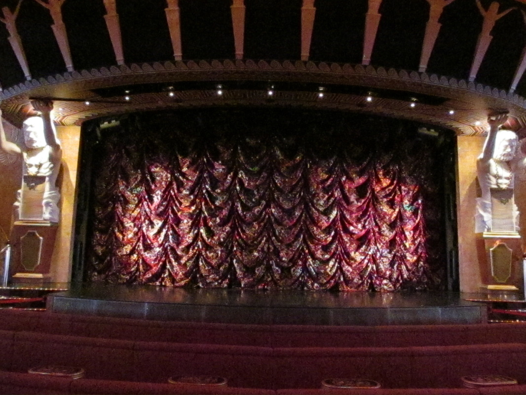 Stage in Phantom Theatre