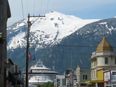 Princess Ship Docked in Skagway