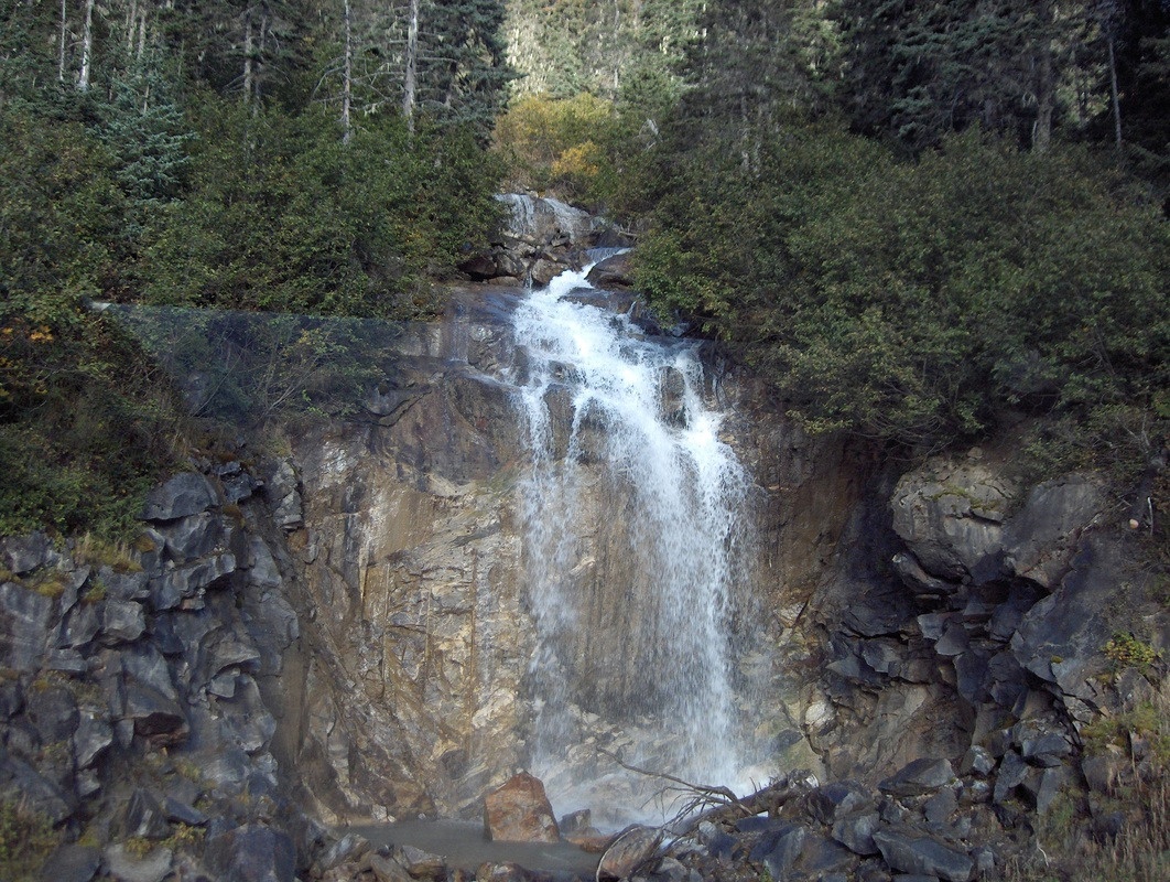 Skagway Waterfall