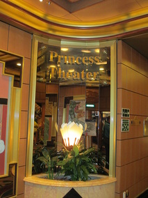 Princess Theatre on Caribbean Princess