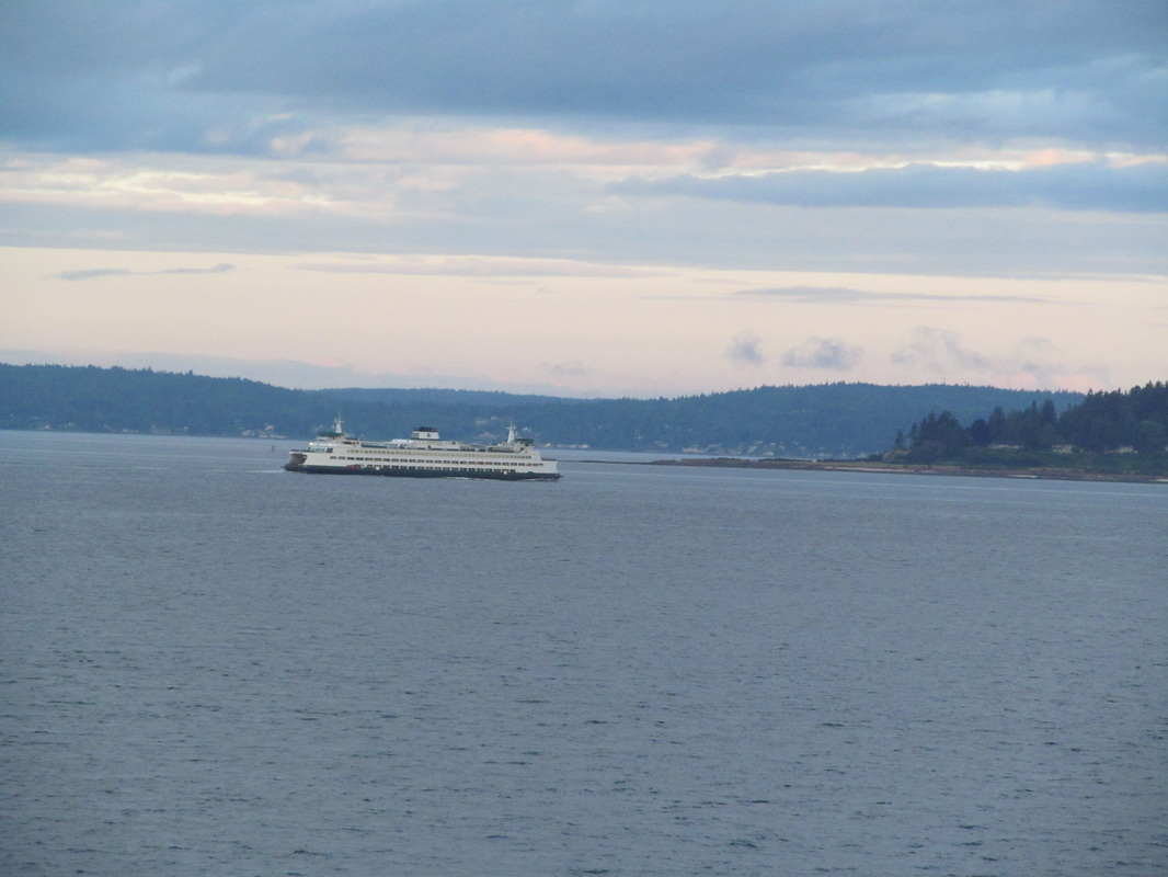 Ferry In The Distance