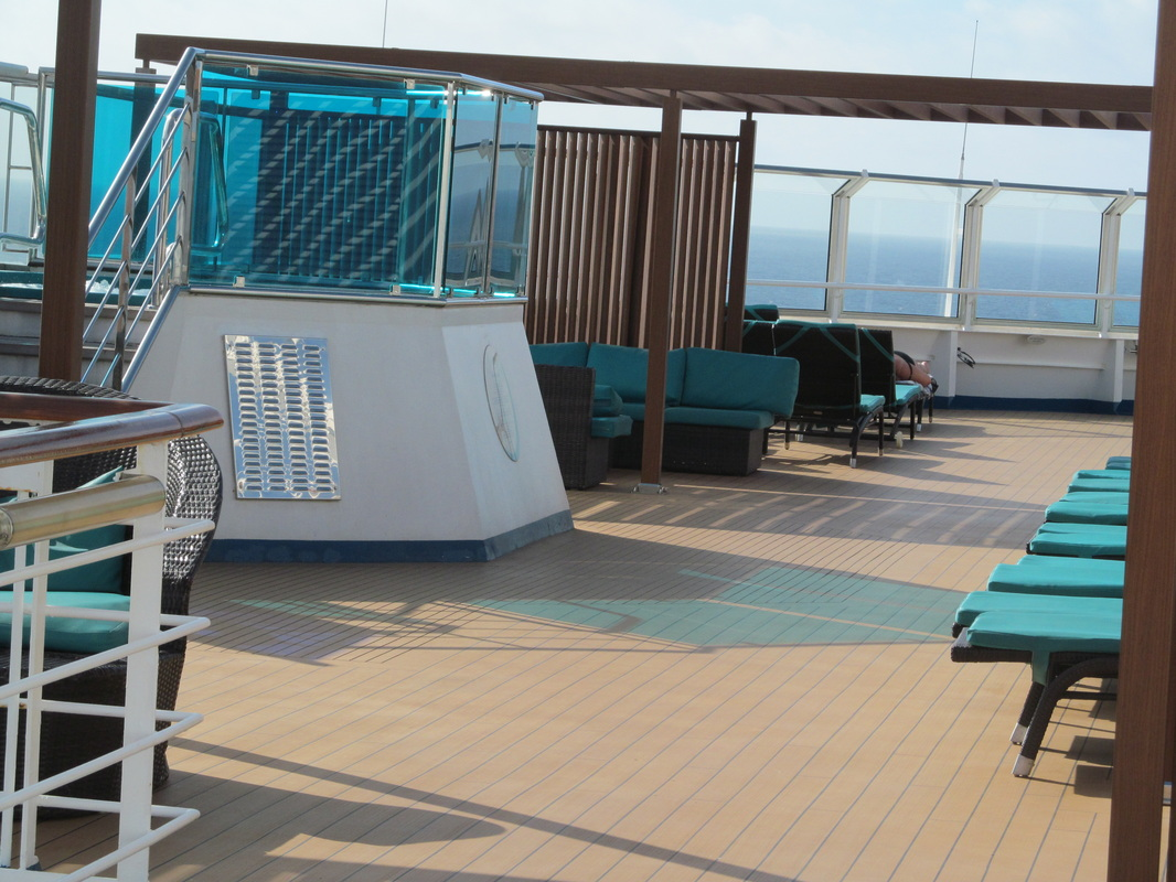 Serenity Deck on the Carnival Dream