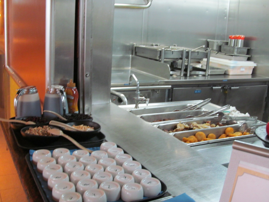 Carnival Triumph Omelet Station